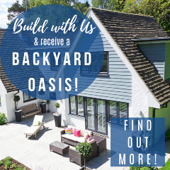 Build your home with us & receive a backyard oasis!